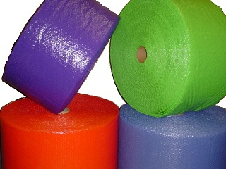 Bubble Wrap Clear Purple Green Blue red Color BubbleWrap