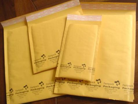 Self Seal Kraft Bubble Mailers Envelopes