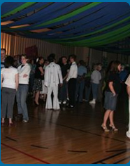 Bubble Wrap Gala / Dance Decorations