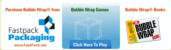 Bubble Wrap Game, Pop some Virtual Bubble Wrap, it's on us!