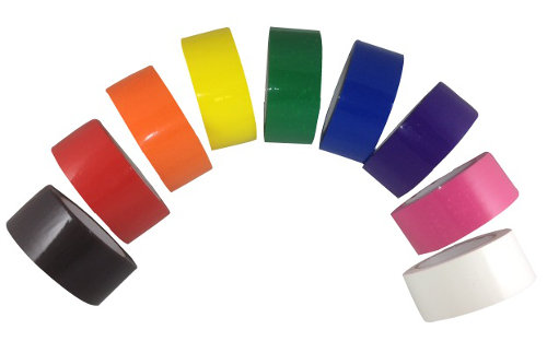 Colors That Match Green color carton sealing tape - red tape, black tape, blue tape
