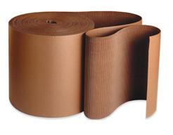 B-Flute Roll - Single-face Corrugated Cardboard